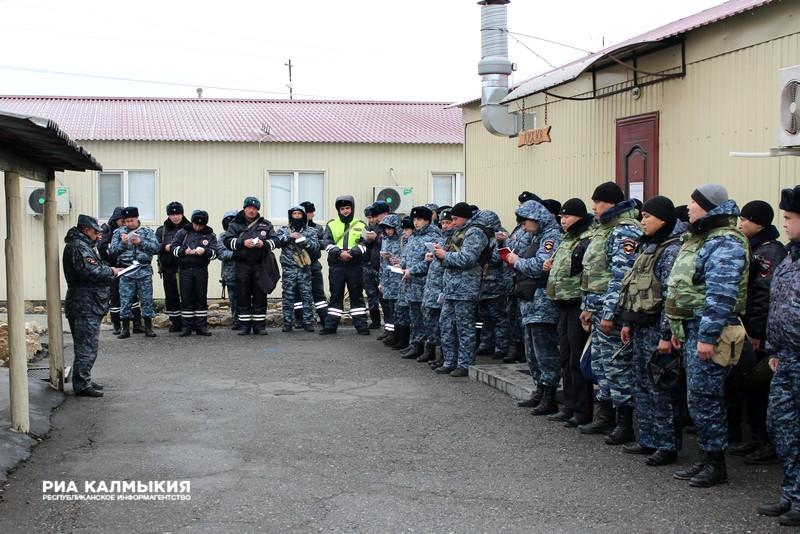 Силовики из различных регионов Российской Федерации будут нести службу вДагестане