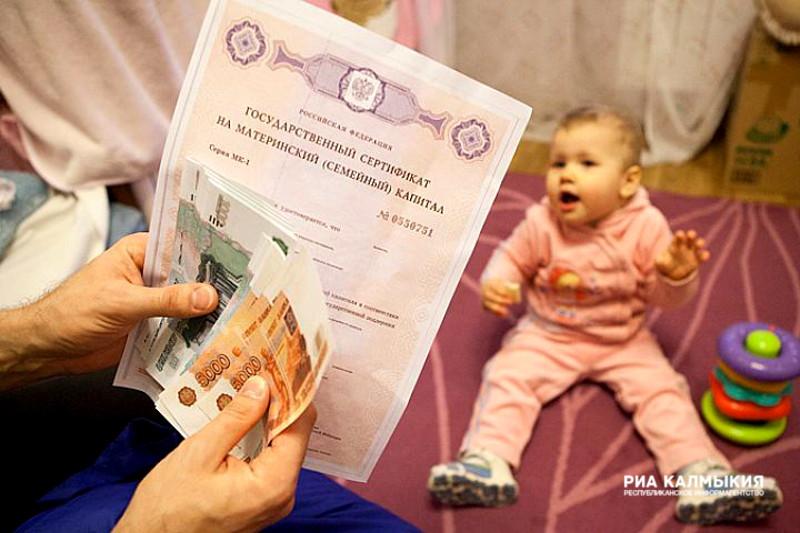 Практически 50 тыс. семей Калужской области подали заявления наматеринский капитал